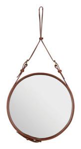 miroir rond design de Jacques Adnet